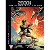 2000 AD Graphic Novel Collection Vol 11 HC Robo Hunter Part 1