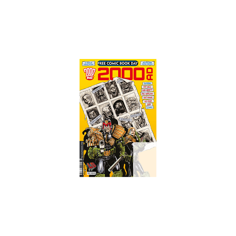FCBD 2017 2000 AD Special