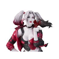 Harley Quinn Red White & Black by Stanley Lau