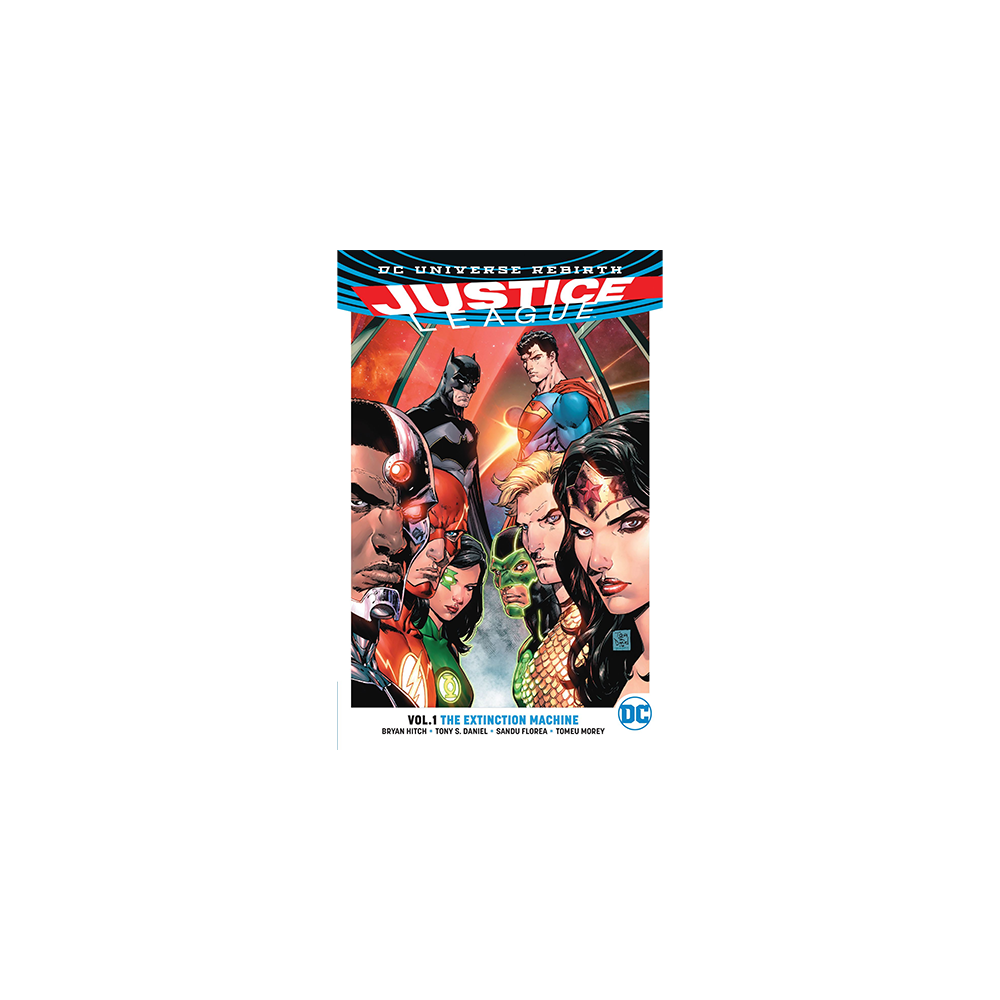 Justice League TP Vol 01 The Extinction Machine (Rebirth)