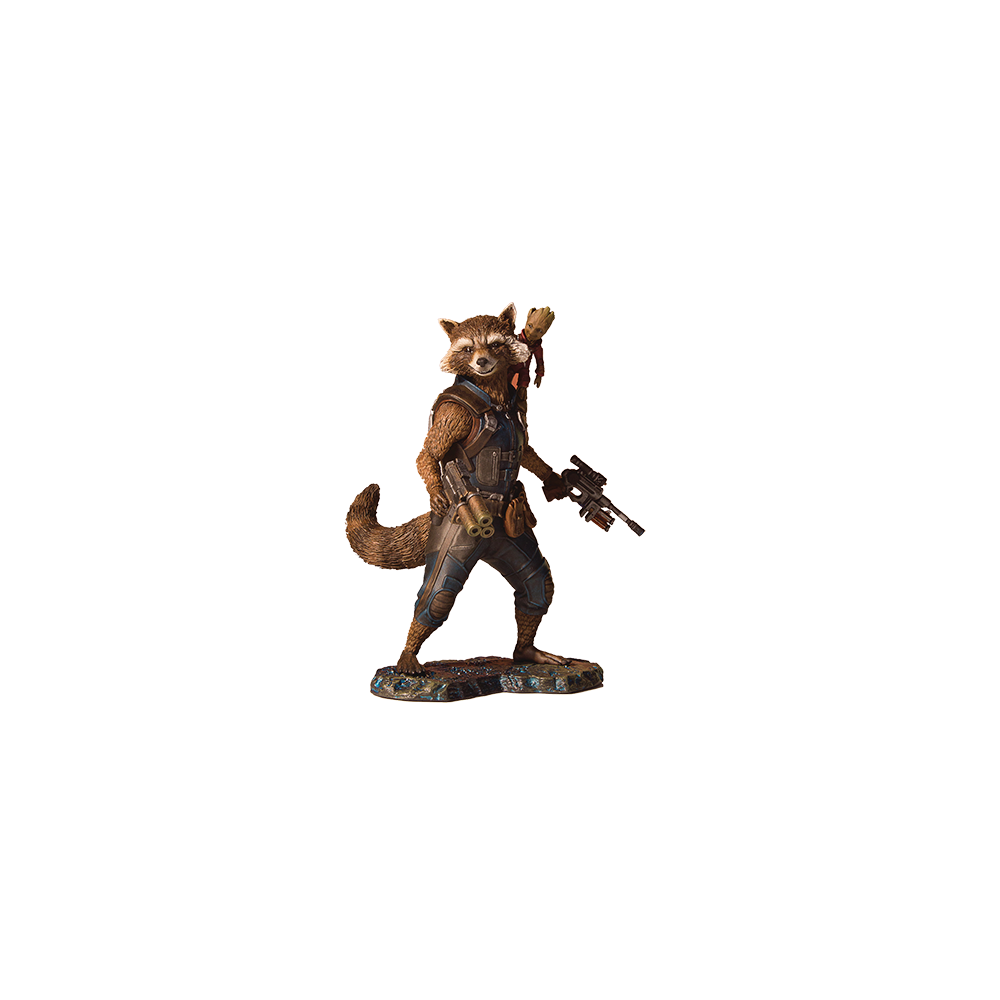 Marvel GoTG 2 Rocket & Groot Collectors Gallery Statue