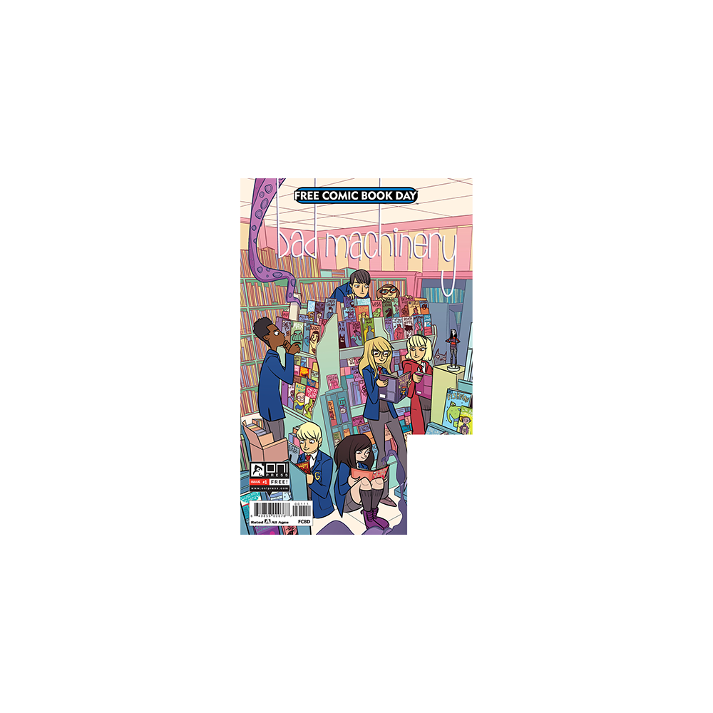 FCBD 2017 Bad Machinery