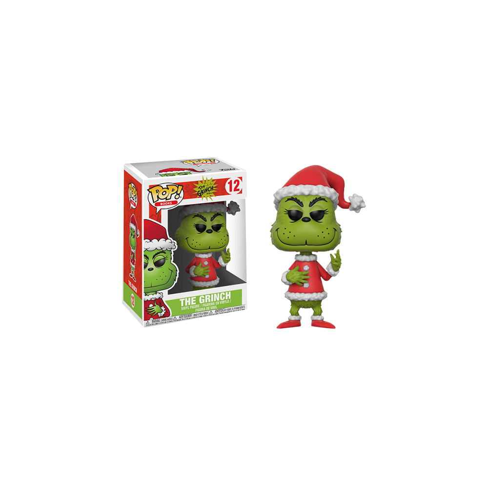 Funko Pop: The Grinch - Grinch in Santa Outfit