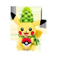 Pokemon Plush Figures 20 cm - Pikachu (Winter Edition)