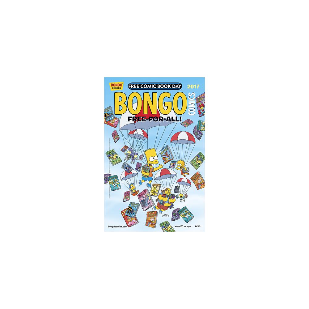 FCBD 2017 Bongo Comics Free-For-All
