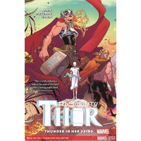 Marvel Graphic Novel Collection Vol 160 Mighty Thor Thunder in Her Veins HC