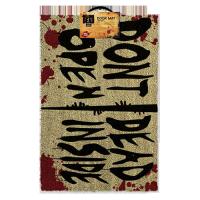 Walking Dead Doormat Don't Open Dead Inside