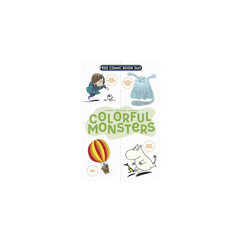 FCBD 2017 Colorful Monsters