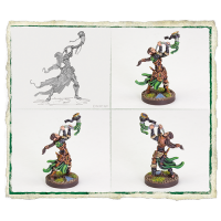 Runewars Miniatures Game - Latari Elves Infantry Command