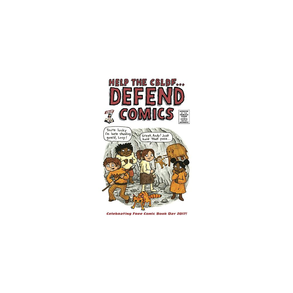 FCBD 2017 Defend Comics