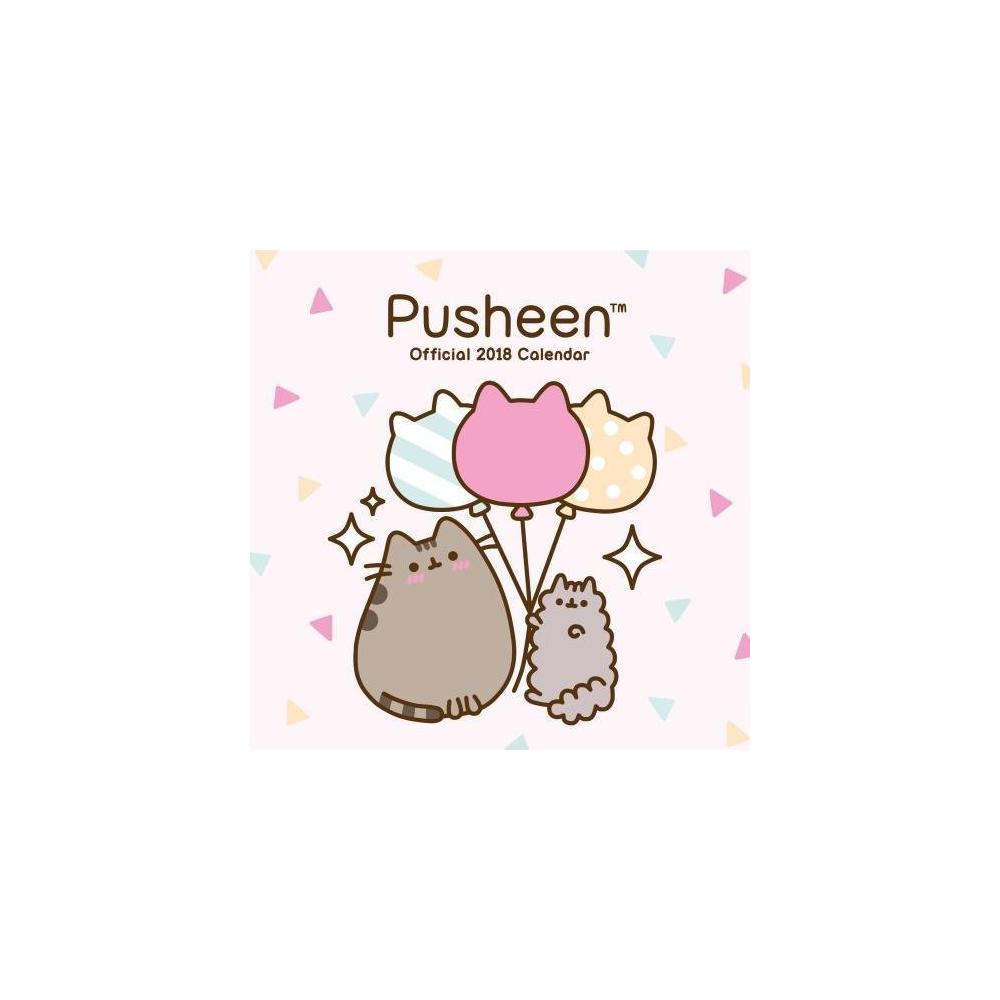 Pusheen Calendar 2018