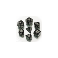 Call of Cthulhu Dice Set black & glow-in-the-dark