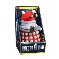 Doctor Who Plush Figure with Sound Dark Red Dalek