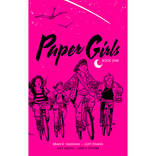 Paper Girls Deluxe Edition HC Vol 01