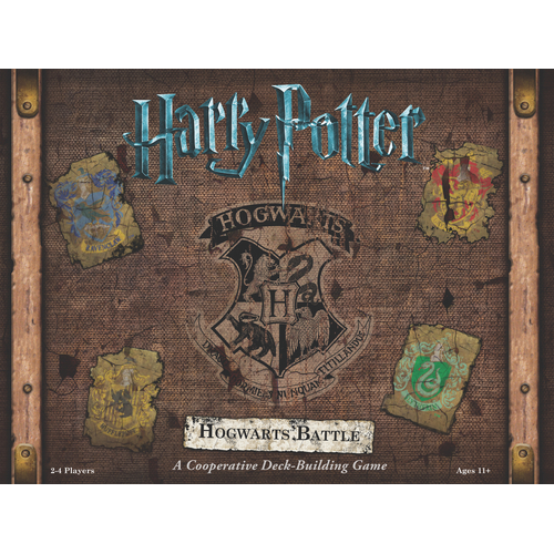 Harry Potter Hogwarts Battle - A Cooperative Deck Building Game