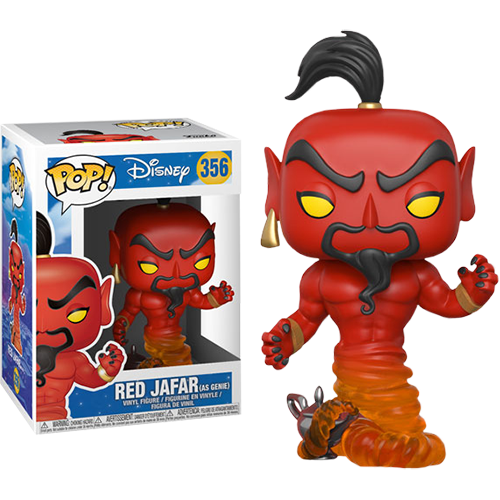 Funko Pop: Aladdin - Jafar (Red)