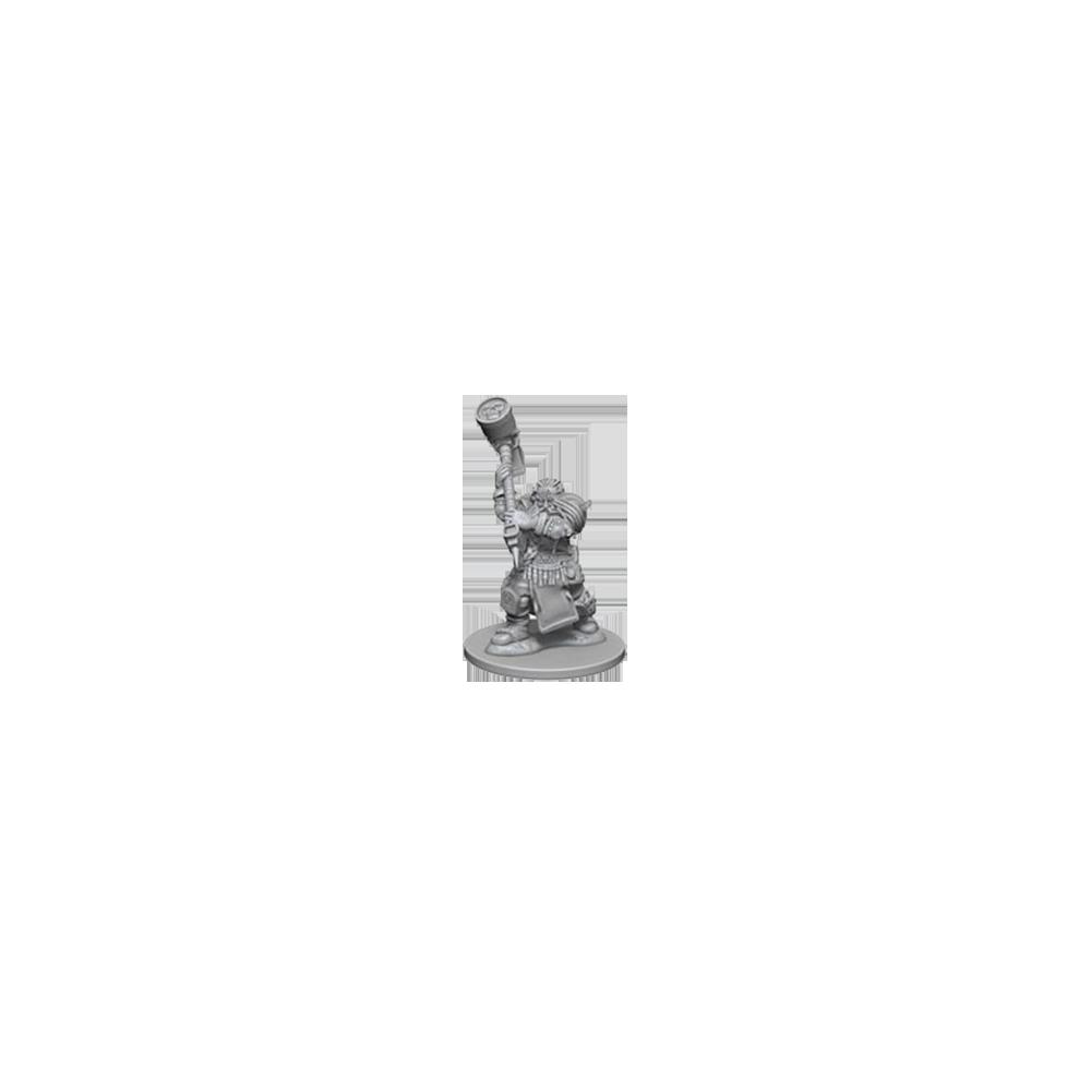 D&D Nolzur's Marvelous Unpainted Miniatures: Dwarf Male Cleric
