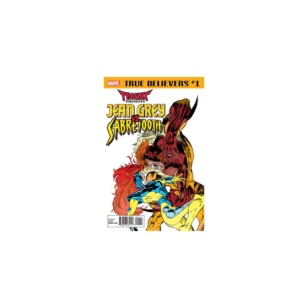 True Believers Phoenix Presents Jean Grey Vs. Sabretooth