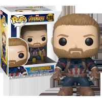 Funko Pop: Avengers: Infinity War - Captain America