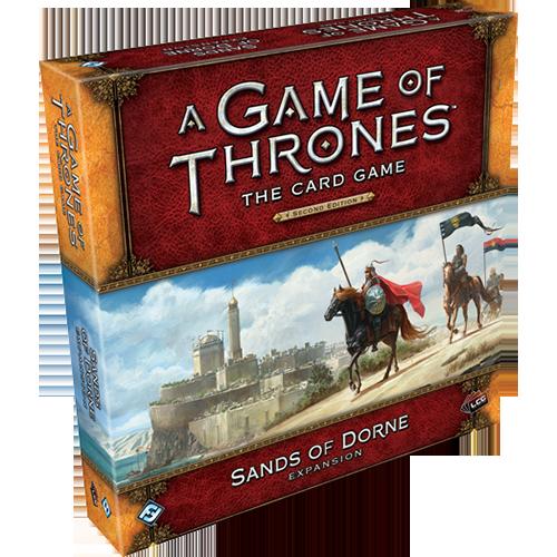 A Game of Thrones: The Card Game (editia a doua) – Sands of Dorne
