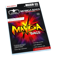 Ultimate Guard Manga Bags Resealable (100)