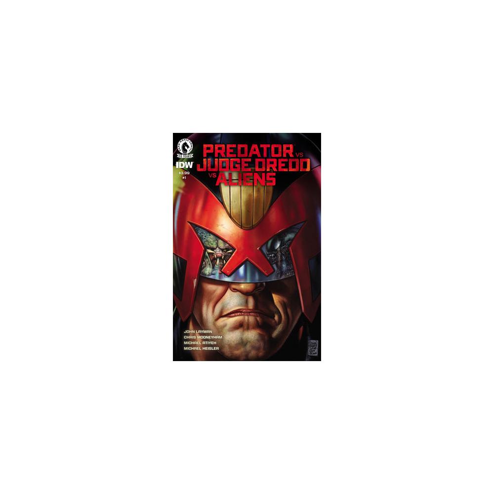 Limited Series - Predator vs Judge Dredd vs Aliens