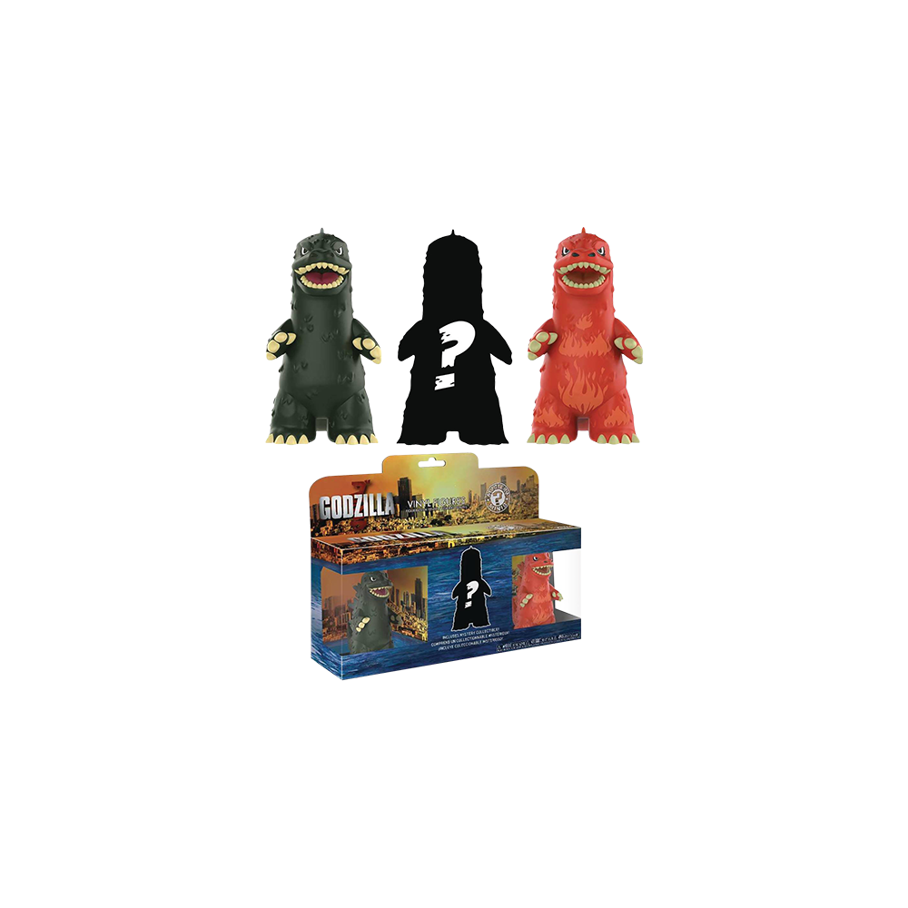 Mystery Mini Blind Box: Godzilla 3-Pack