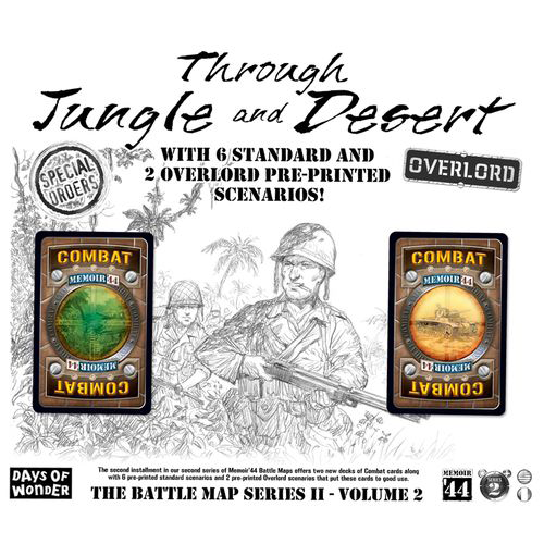 Memoir '44: Through Jungle and Desert