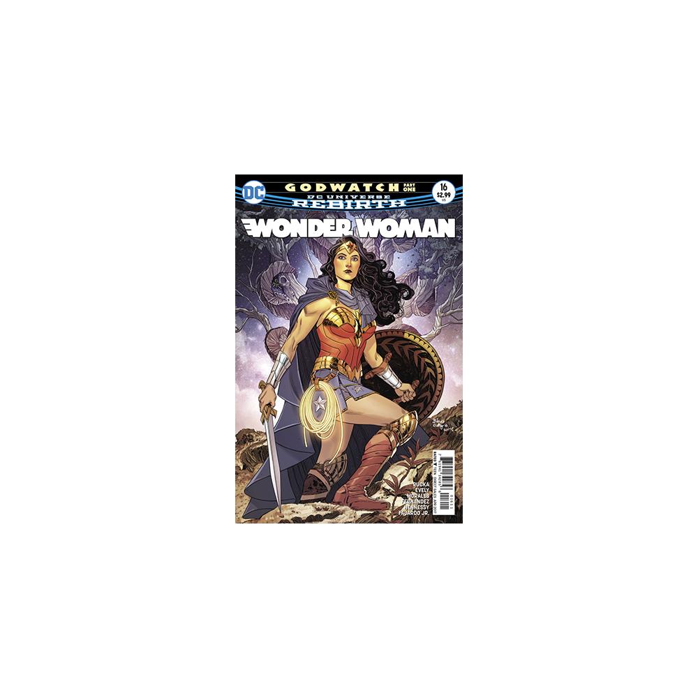 Story Arc - Wonder Woman - Godwatch