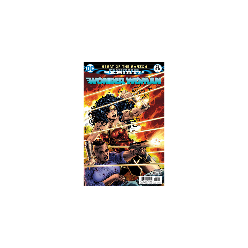 Story Arc - Wonder Woman - Heart of the Amazon