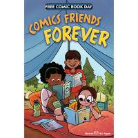 FCBD 2018 Comics Friends Forever