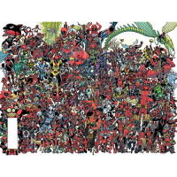 Deadpool 300 by Koblish Poster