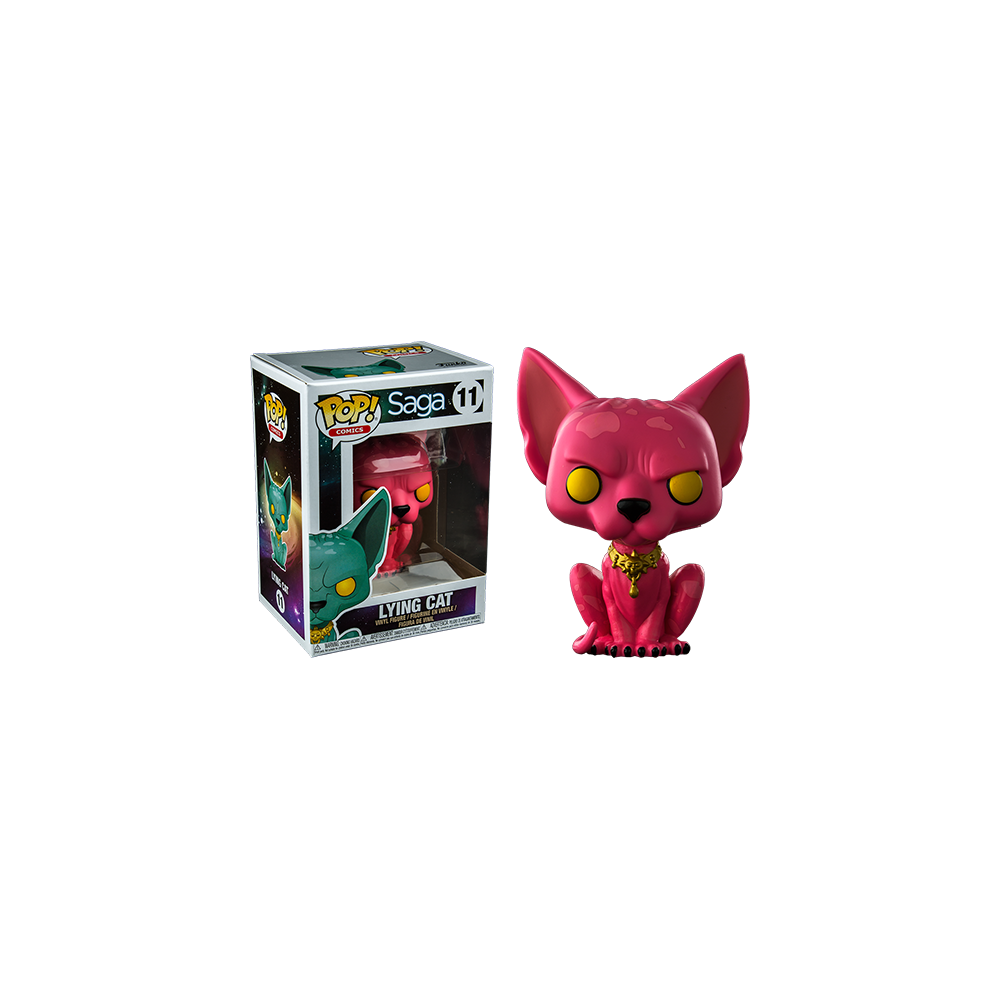 Funko Pop: Saga - Pink Lying Cat