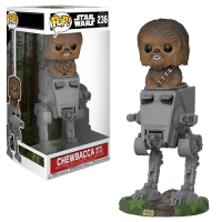 Funko Pop: Deluxe: Star Wars - Chewbacca in AT-ST