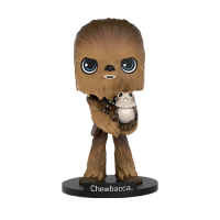 Star Wars Episode VIII Wacky Wobbler Bobble-Head Chewbacca