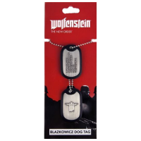 Wolfenstein Dog Tags Blazkowicz