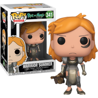 Funko Pop: Rick and Morty - Warrior Summer