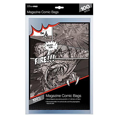 "Ultra Pro - Comic Preserver 7 X 10"" (10 Bags)"""