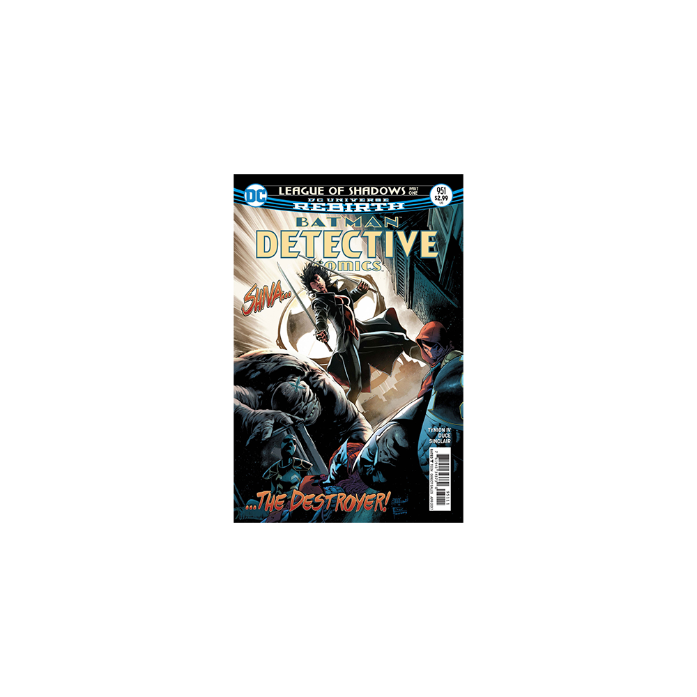 Story Arc - Batman Detective Comics - League of Shadows
