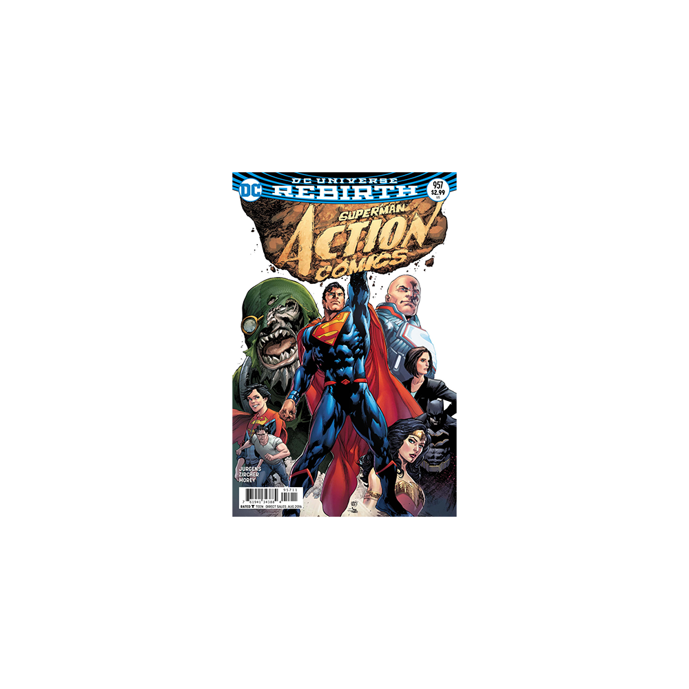 Story Arc - Action Comics - Path to Doom