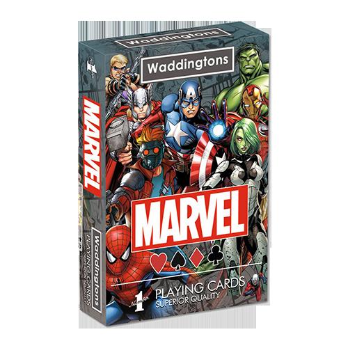 Cărţi de joc - Marvel Universe Waddington