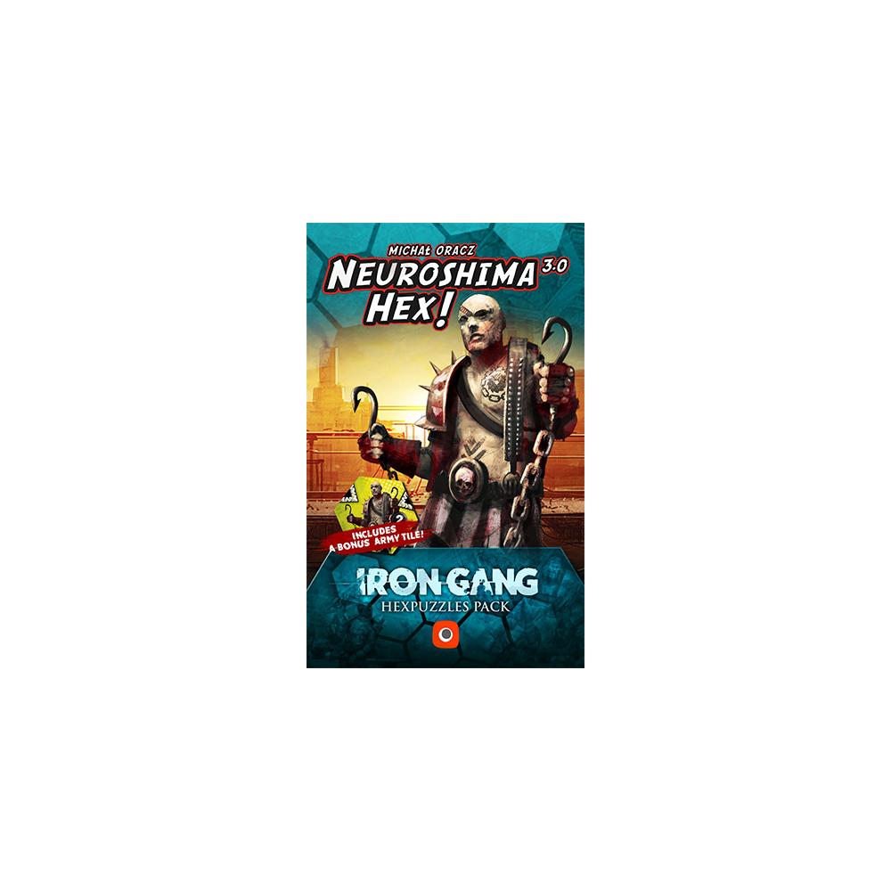 Neuroshima Hex 3.0 – Iron Gang Hexpuzzles pack