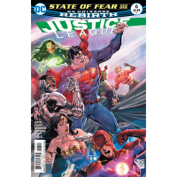 Story Arc - Justice League - Outbreak