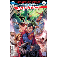 Story Arc - Justice League - Outbreak