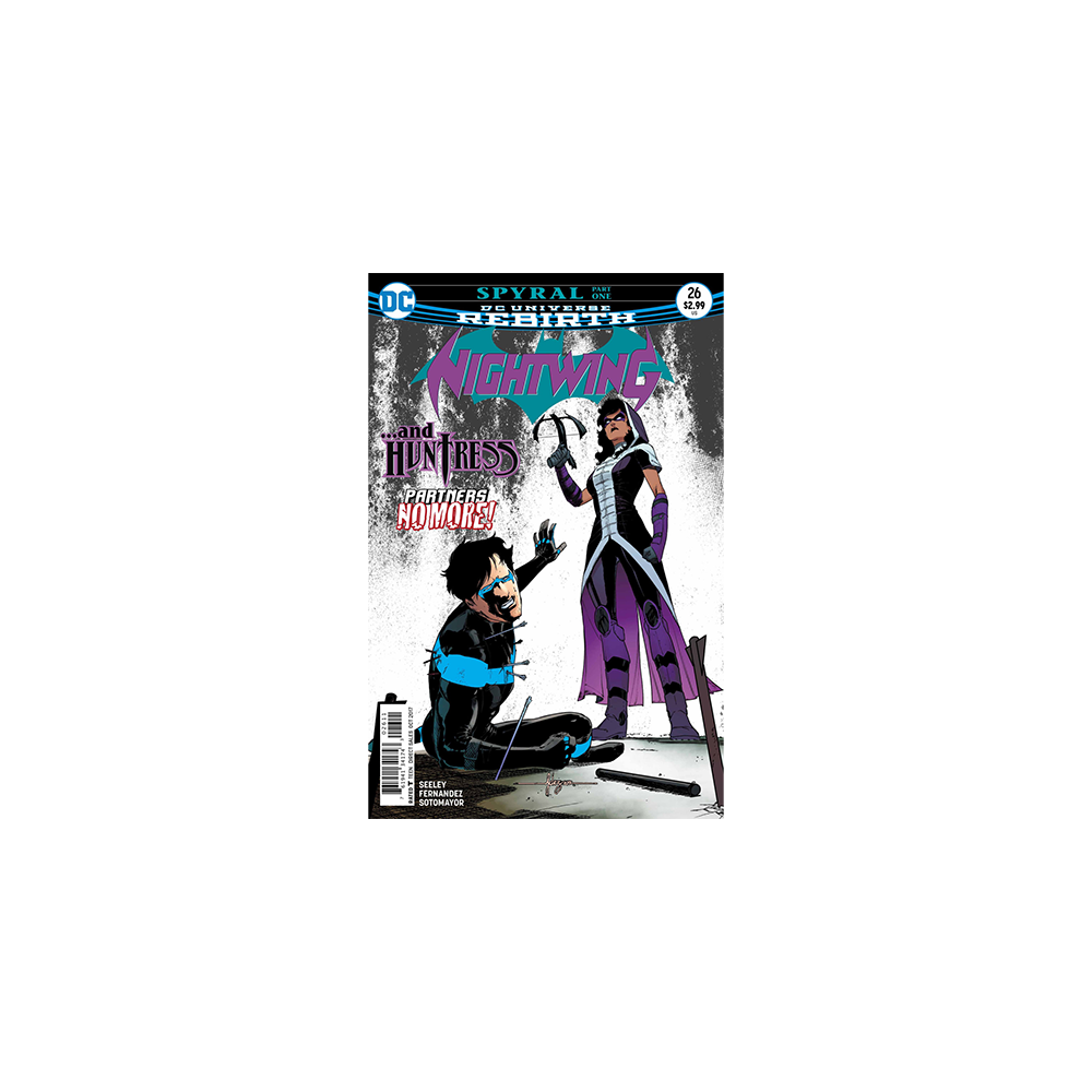 Story Arc - Nightwing - Spyral