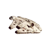 Figurină: Star Wars VI Return Of The Jedi Diecast Model Millennium Falcon Elite Edition