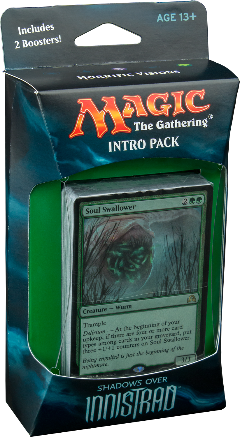 Magic: the Gathering - Shadows over Innistrad Intro Pack: Horrific Visions