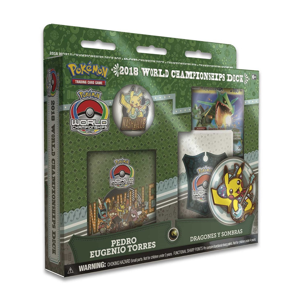 Pokemon Trading Card Game: 2018 World Championship Deck - Pedro Eugenio Torres