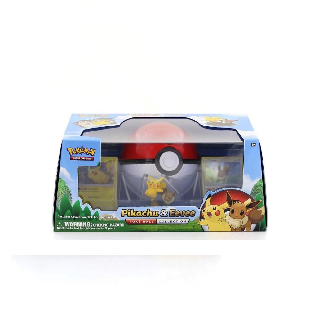 Pokemon Trading Card Game: Pikachu & Eevee Poke Ball Collection