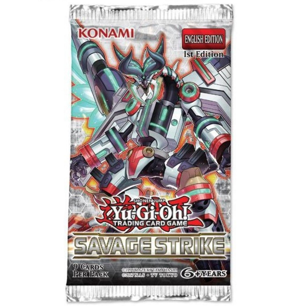 Yu-Gi-Oh!: Savage Strike 1st Edition - Booster Pack